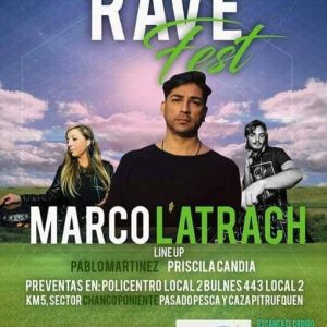 Priscila Candia - DJ - Rave Fest