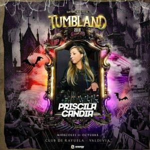 Priscila Candia - DJ - Tumbland 2018