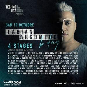 Fabián Argomedo B-Day